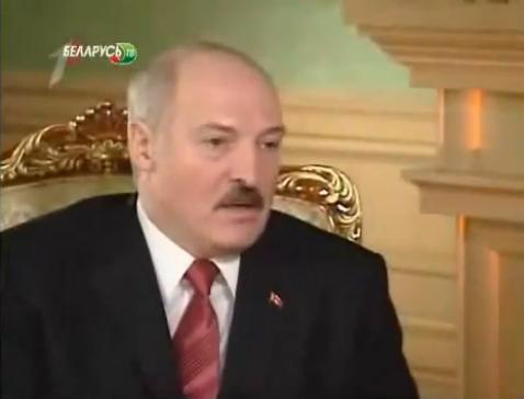 Белорусы, я горжусь вашим президентом!