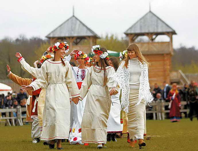 Русь имеет столь древнюю историю, что с ней не сравнится ни одна страна, ни один народ