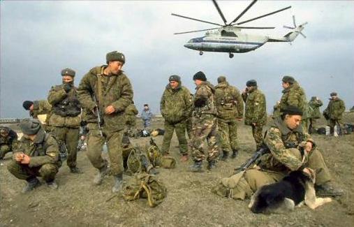 О войне в Чечне