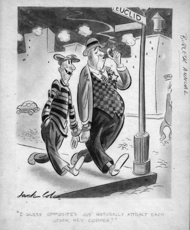 Художник и иллюстратор Jack Cole