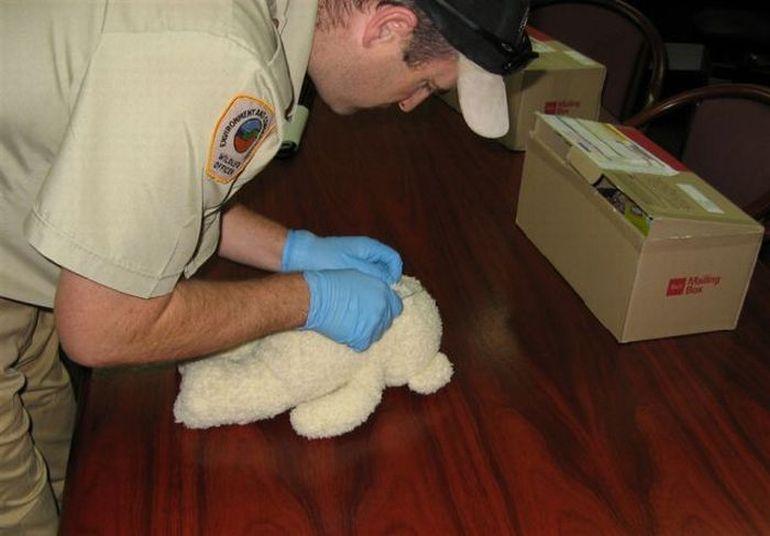 Контрабанда в детской игрушке