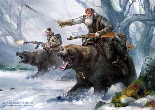Если у русского человека находится дело по Душе, то он горы свернет, а если нет – тихо сгинет