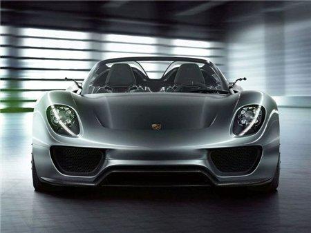 Новый Porsche 918 Spyder дебютирует во Франкфурте