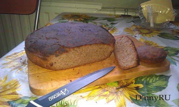 Как приготовить хлеб дома, без магазинных вредных дрожжей.