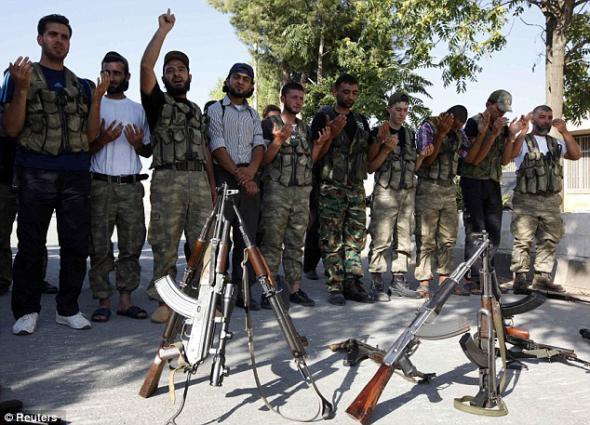 Обама «по секрету» помог сирийским террористам