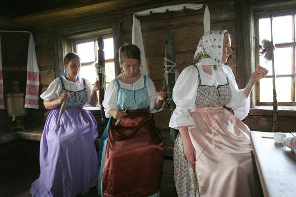 Магия прядения, вязания, плетения у славян