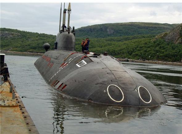 Подводный таран