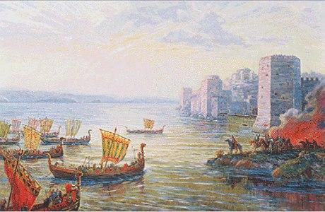 Морской поход Русов на Царьград в 626 году