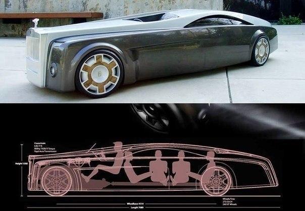 Концепт машины-призрака от Роллс-Ройс.