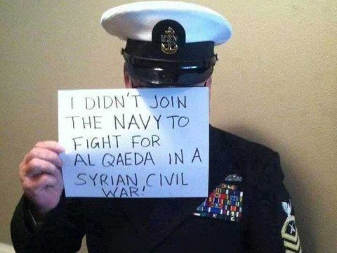 Не для того я шёл в армию, чтобы воевать за «Аль-Каиду» в Сирии!