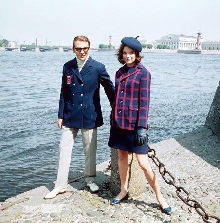 Советская мода на улицах Ленинграда